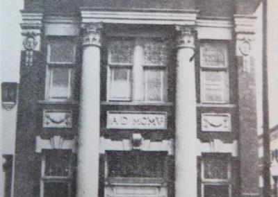 main st erwin st first national bank circa1920